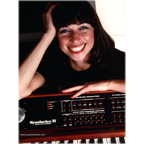 Suzanne Ciani with Synclavier® II, early 1980s
