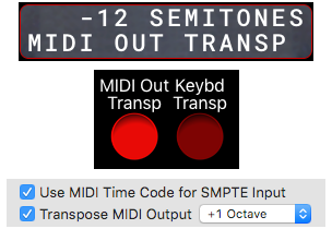 MIDI Transpose Buttons