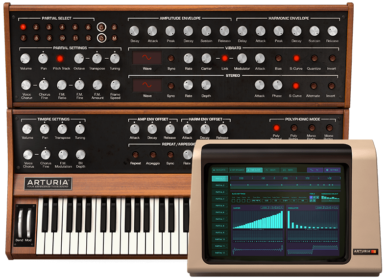 Synclavier V Plugin Screenshot