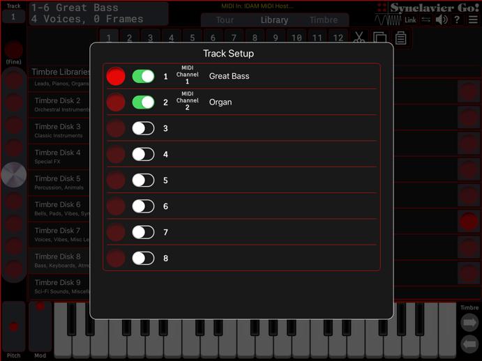 Ableton Live walkthrough - Synclavier