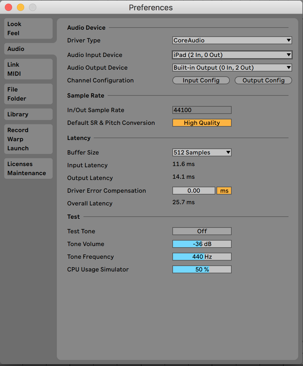 Ableton Turn Off Control Surface